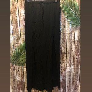 Forever 21 long skirt with side splits.